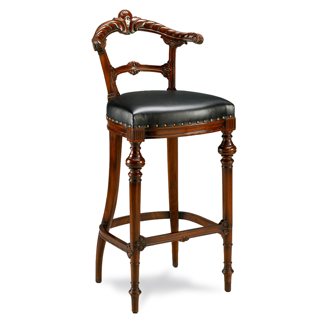 Gaming Barstool W Leather